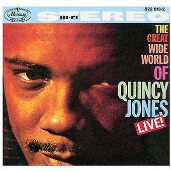 Quincy Jones - Great Wide World Live [CD] USA import