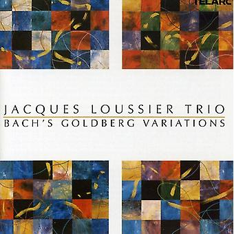 Jacques Loussier Trio - Bach Variations Goldberg [CD] USA import
