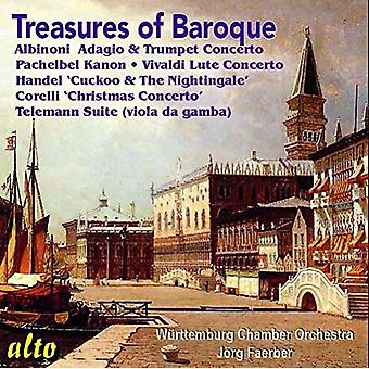 Faer / Wurttemburg Chamber Orch - Treasures of the Baroque [CD] USA import