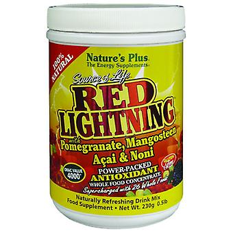 Natures Plus SOURCE OF LIFE RED LIGHTNING .5 LB