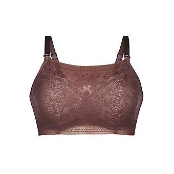 Anita 0600-769 Cuidado Fleur Berry Pink Lace Strapless Crop Top
