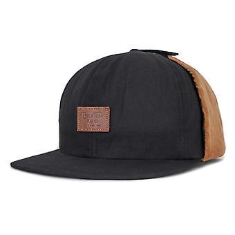 Brixton Grade Ear Flap Cap Black