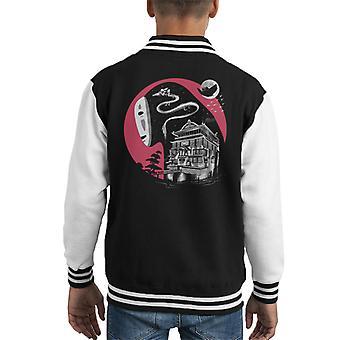 Spirited Away Forgotten Names Kid's Varsity Jacket