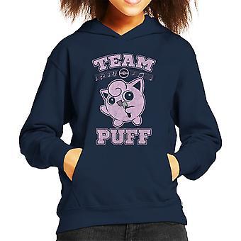 Sweat-shirt à capuche de Pokemon équipe Puff Rondoudou Kid