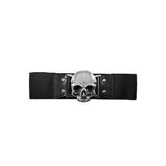 حزام الخصر مطاطا الجمجمة السوداء كريبسفيل 666