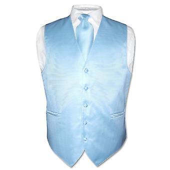 Vestido chaleco corbata de los hombres tejida cuello lazo raya Horizontal diseño conjunto