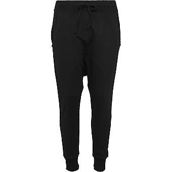 Urban Classics Ladies - FLEECE Sarouel Sweatpants schwarz