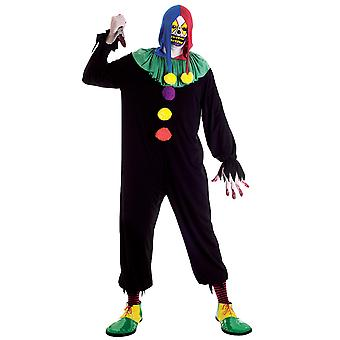 Joker Jack Clown Circus Horror Halloween Men Costume
