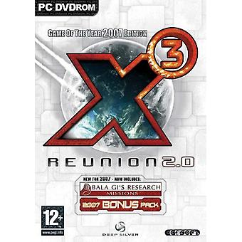 X3 Reunion 2.0 - Game of the Year 2007 Edition (PC DVD) - New