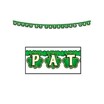 St Patricks Tag Banner