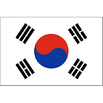 Sør-Koreas flagg 5 ft x 3 ft Jer.