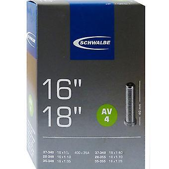 SCHWALBE AV 4 cykel tube 16″