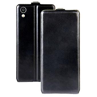 היפוך מקרה פרימיום שחור עבור Sony Xperia XA1 מקרה מקרה מקרה