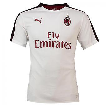 2018-2019 AC Milan Puma stadion Jersey (fehér)-gyerekek