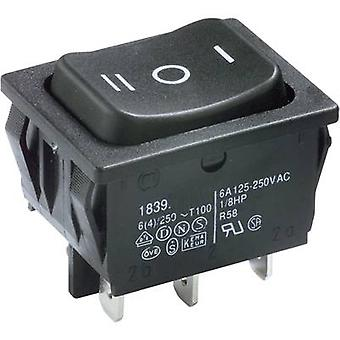 Marquardt Toggle switch 1839.1507 250 V AC 6 A 2 x On/Off/On IP40 latch/0/latch 1 pc(s)