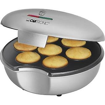 Clatronic MM3496 muffin Maker silver, svart