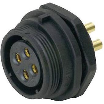 Weipu SP2112/S 12 bala conector Socket, built-in série (conectores): SP21 número total de pinos: 12 1 PC (S)
