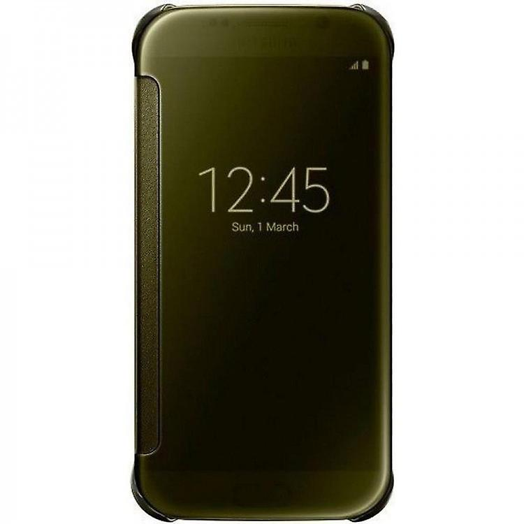 Samsung EF-ZG920BFE clear view transparent cover for Galaxy S6 gold