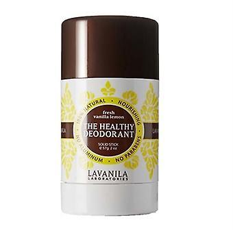 Lavanila The Healthy Deodorant Fresh Vanilla Lemon Solid Stick 2oz / 57g