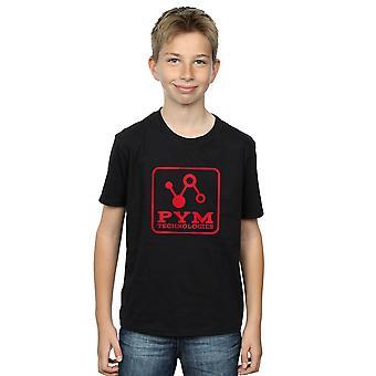 Bewundern Sie jungen Ant-Man und die Wespe Pym Technologien T-Shirt