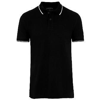 Jockey USA Originals Polo skjorte-sort