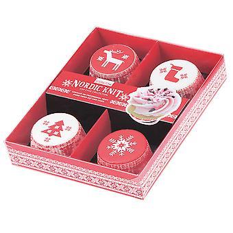 Eddingtons Nordic Knit Cupcake Cases
