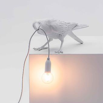 Seletti Vogel Lampe spielen Edition In weiß