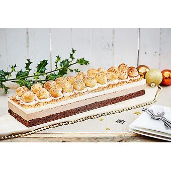 Country Range Frozen Salted Caramel Profiterole Bar Gateau