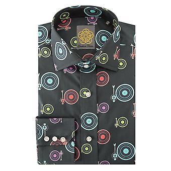 Gresham Blake Decks Print Mens Shirt