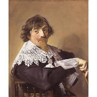 Nicolaes Hasselaer,Frans Hals,79.5x66.5cm