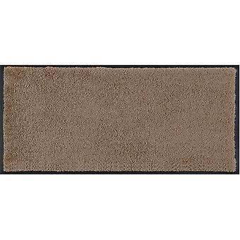 wash + dry mini mat taupe doormat washable with edge shoe storage levels mat