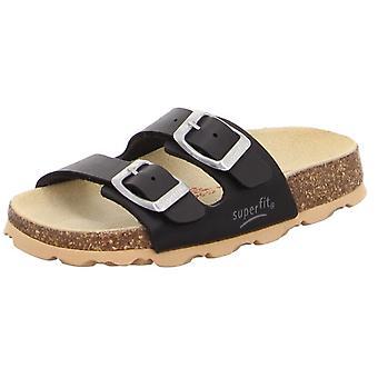 Superfit jongens Tecno 111-00 sandalen zwart