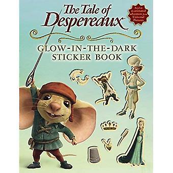 Tale of Despereaux film Tie-In klistremerke bok