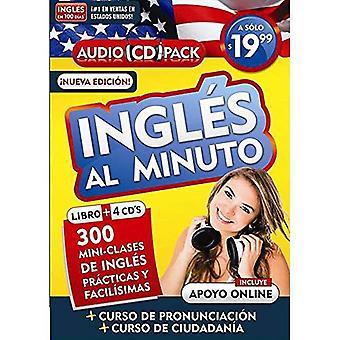 Ingles Al Minuto Audio Pack (Libro + 4 CD). Nueva mikro-Edicion / Englanti hetken (kirja + 4 CD). Uusi painos