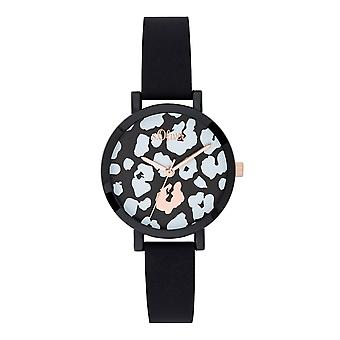 s.Oliver Damen Uhr Armbanduhr Silikon SO-3728-PQ