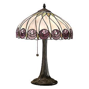Hutchinson średnich stylu Tiffany Lampa stołowa - wnętrza 1900 64177