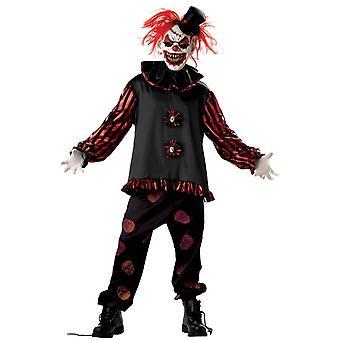 Kostium dla dorosłych przerażający Klaun