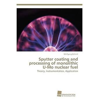Sputter coating and processing of monolithic UMo nuclear fuel by Schmid Wolfgang
