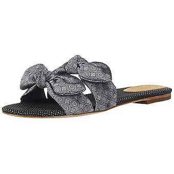Bill Blass Womens Brianne Open Toe Casual Slide Sandals