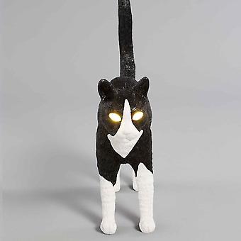Seletti Johans katt - svart & White Edition
