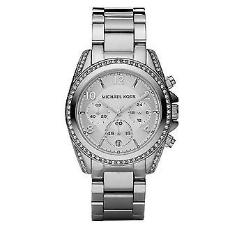 Michael Kors Mk5165 Zilveren dames Blair Watch