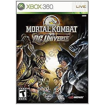 Juego de Xbox 360 de Mortal Kombat Vs DC universo