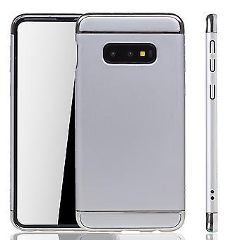 Samsung Galaxy S10e Phone Case Protection Case Bumper Hard Cover Silver