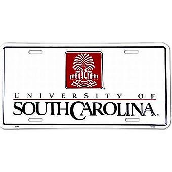 South Carolina Gamecocks NCAA registrerings skylt