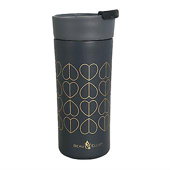 Beau and Elliot Grande Insulated Travel Mug, Dove