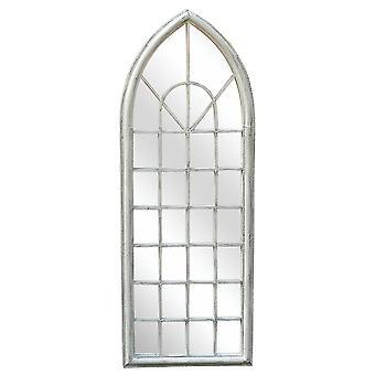 Shabby Chic Arch Garden udendørs spejl-hvid