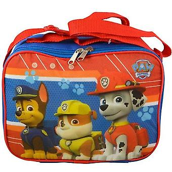 Lunch Bag - Paw Patrol - Chase, Marshall & Rubble Red New PAWLN