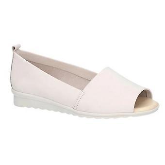 The Flexx Womens/Ladies Fantastic Nubuck Leather Open Toe Slip On Shoe