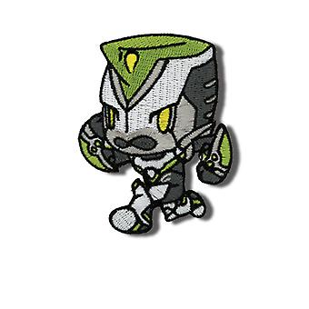 Patch - Tiger & Bunny - New SD Wild Tiger Iron On Gifts Anime Licensed ge44096