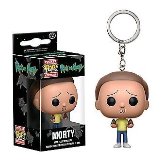 Rick en Morty Morty Pocket pop! Sleutelhanger